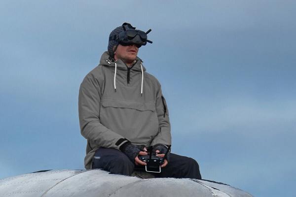 Bộ điều khiển từ xa điều khiển DJI FPV Air Unit xa khoảng 4km