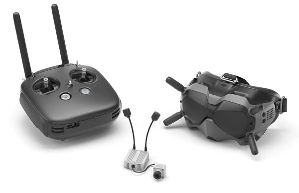 DJI FPV Remote Controller cùng các phụ kiện khác