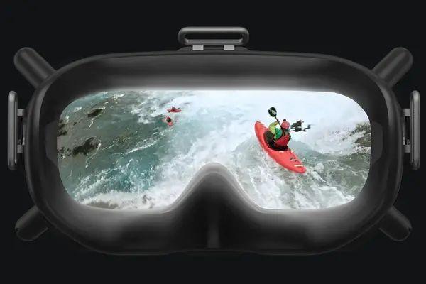 Kính DJI FPV Goggles cung cấp hình ảnh HD sắc nét