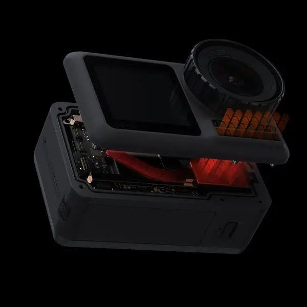 Osmo Action giá tốt với hệ thống tản nhiệt chống nóng pin