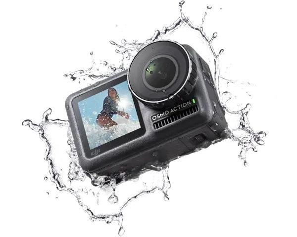 Camera chống nước ở độ sâu 11m