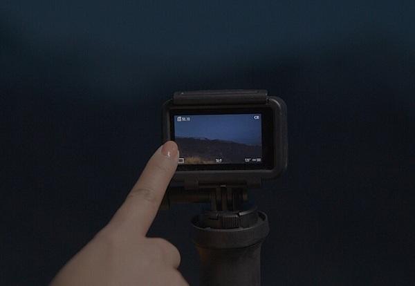 Osmo Action Camera Tùy chỉnh để thiết lập phơi sáng