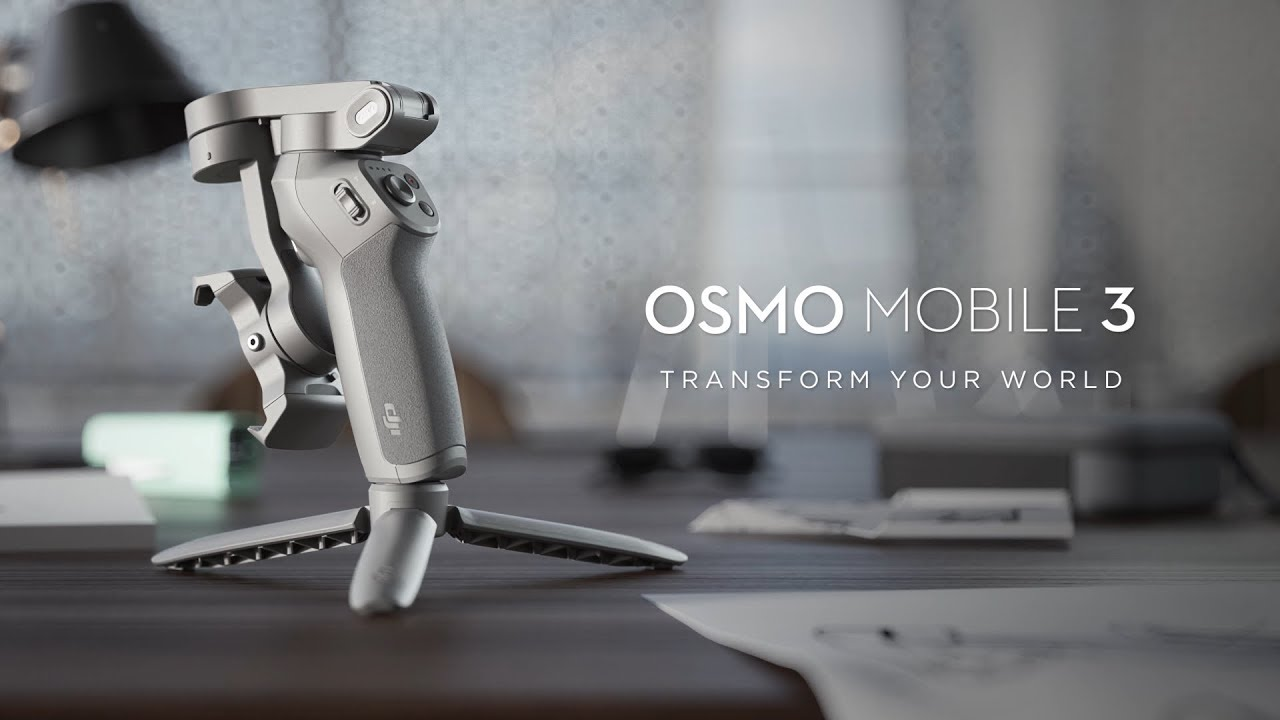 DJI Osmo Mobile 3 combo thiết kế tiện dụng