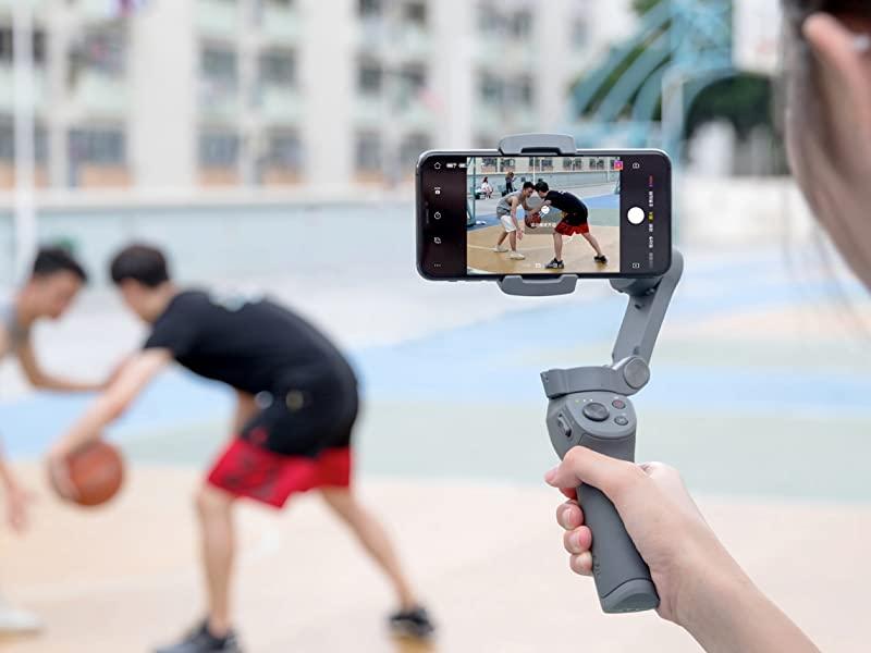Osmo Mobile 3 combo tạo cảm giác thoải mái khi sử dụng lâu