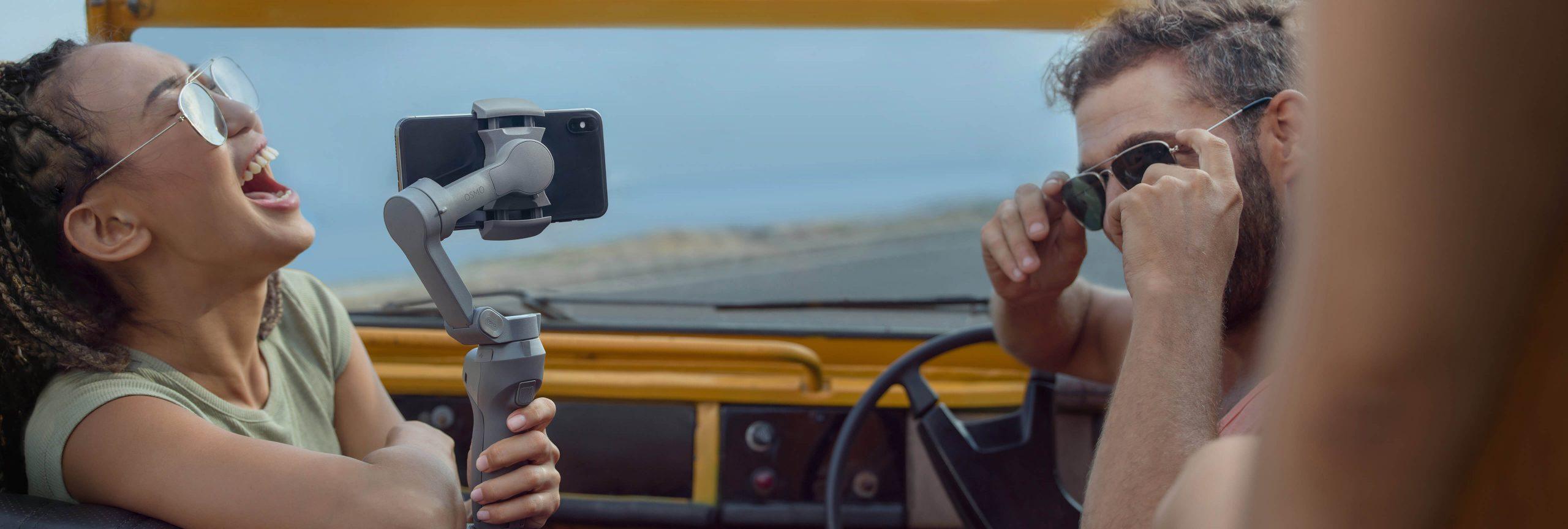 Osmo Mobile 3 quay video ấn tượng với story mode