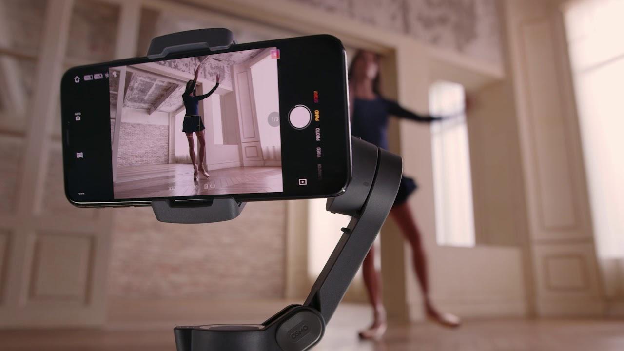 DJI Osmo Mobile 3 cung cấp nhiều chế độ chụp sáng tạo