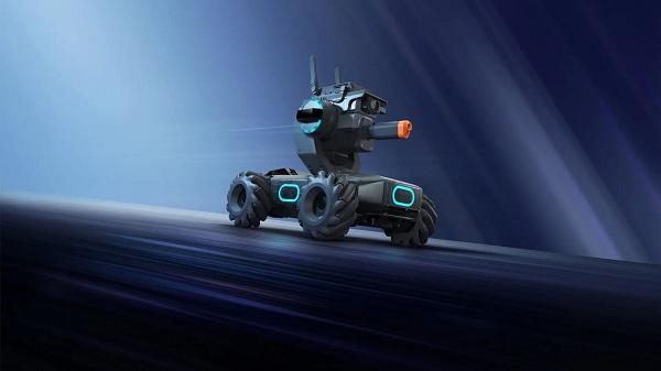 DJI RoboMaster S1 tích hợp gimbal 2 trục ổn định hình ảnh tối ưu