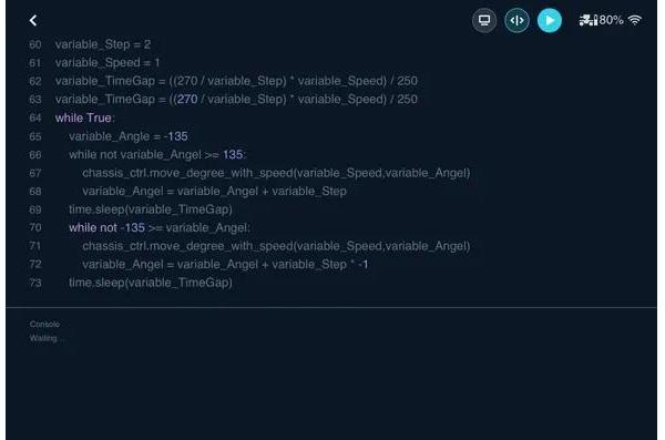 RoboMaster S1 hỗ trợ phát triển lập trình