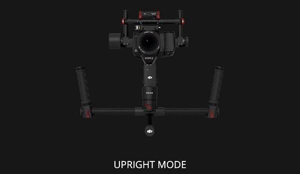 Chế độ Upright trên DJI Ronin MX