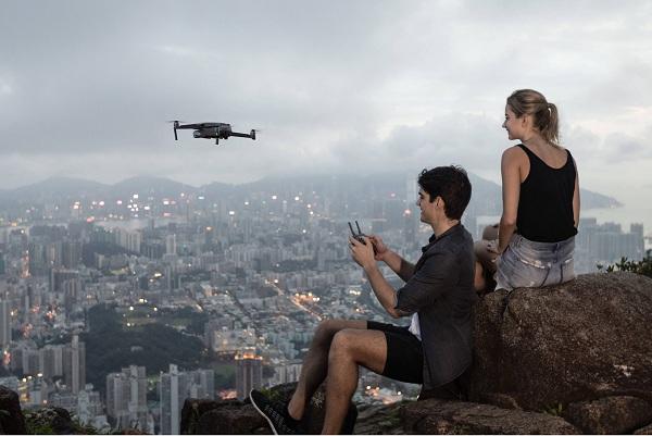 Flycam với công nghệ truyền dẫn OcuSync 2.0