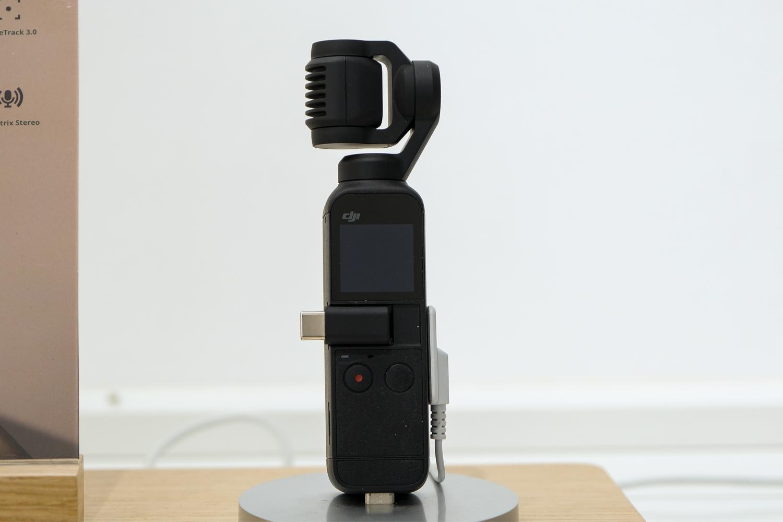 Tính năng bảo vệ cụm camera gimbal của dji omso pocket 2 combo