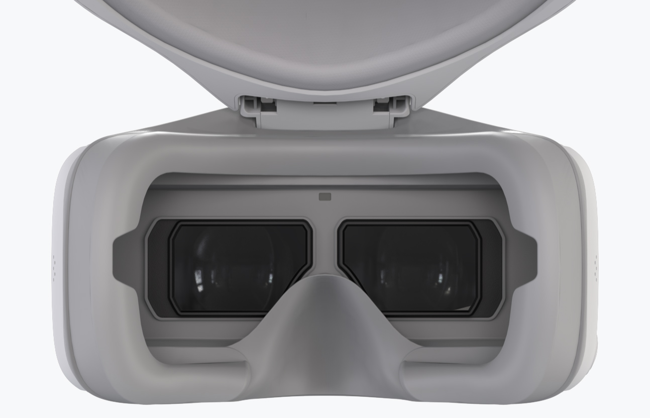 DJI Goggles có hai màn hình với độ phân giải 1920x1080