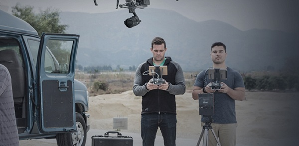 DJI Inspire 2 truyền video xa 7km