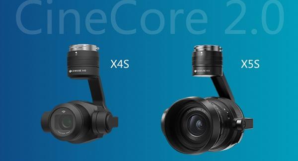 Camera trên DJI Inspire 2