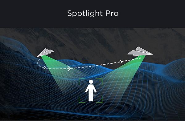 Chế độ bay Spotlight Pro