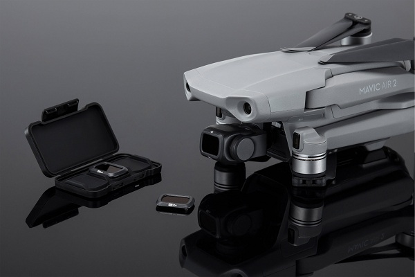 DJI ND Filter Set cho Mavic Air 2 (ND4, ND8, ND32) có kích thước và trọng lượng nhỏ gọn