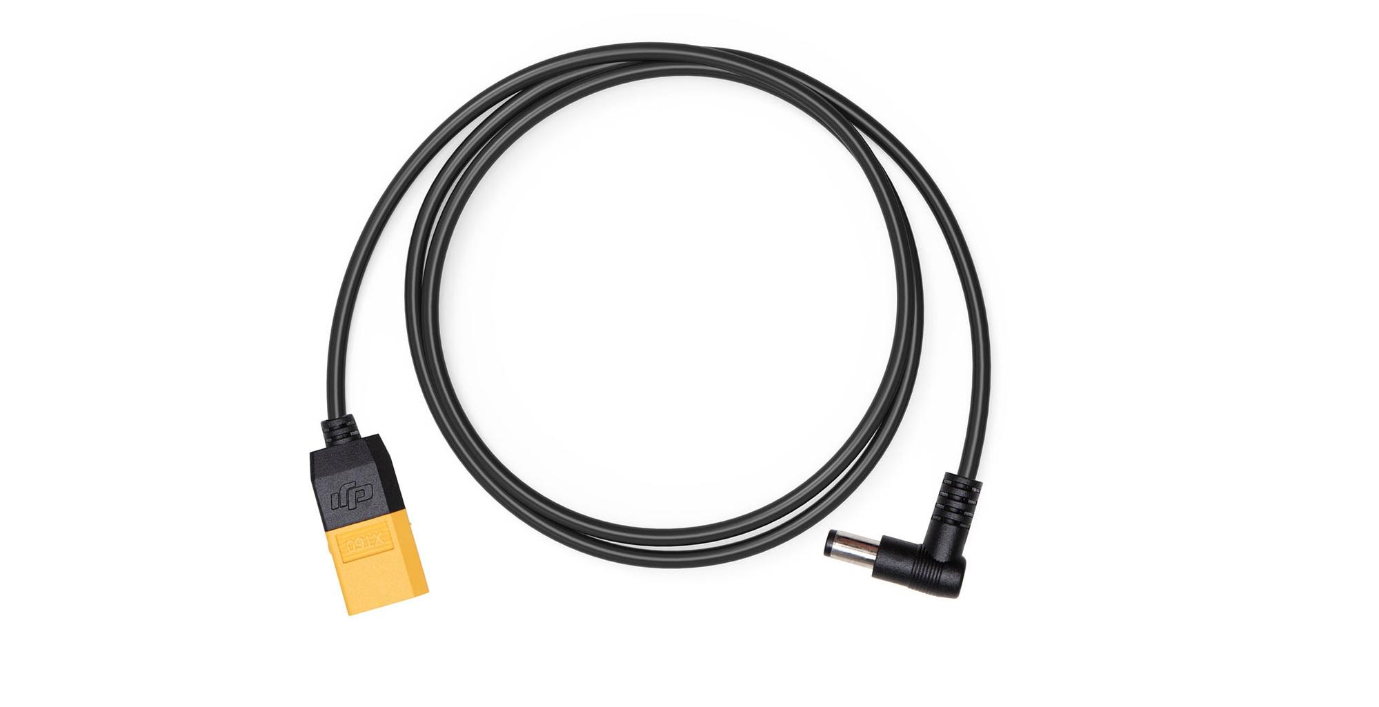 DJI FPV Goggles Power Cable XT60 có đầu nối gập góc 90 độ