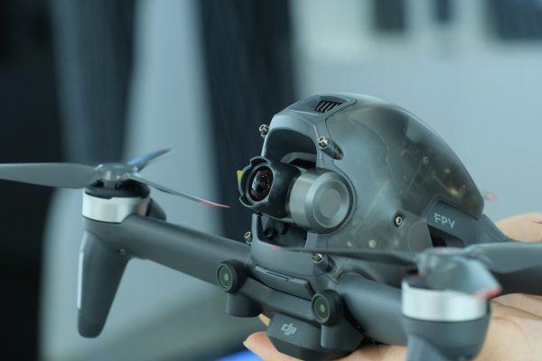 Máy ảnh của FPV Drone tích hợp gimbal 1 trục Z