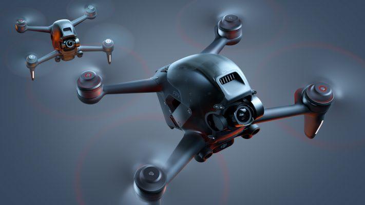 DJI FPV Drone bay ở chế độ thủ công