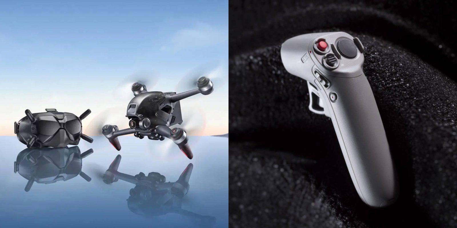 DJI FPV Drone có thêm một bộ chuyển động điều khiển Motion Controller