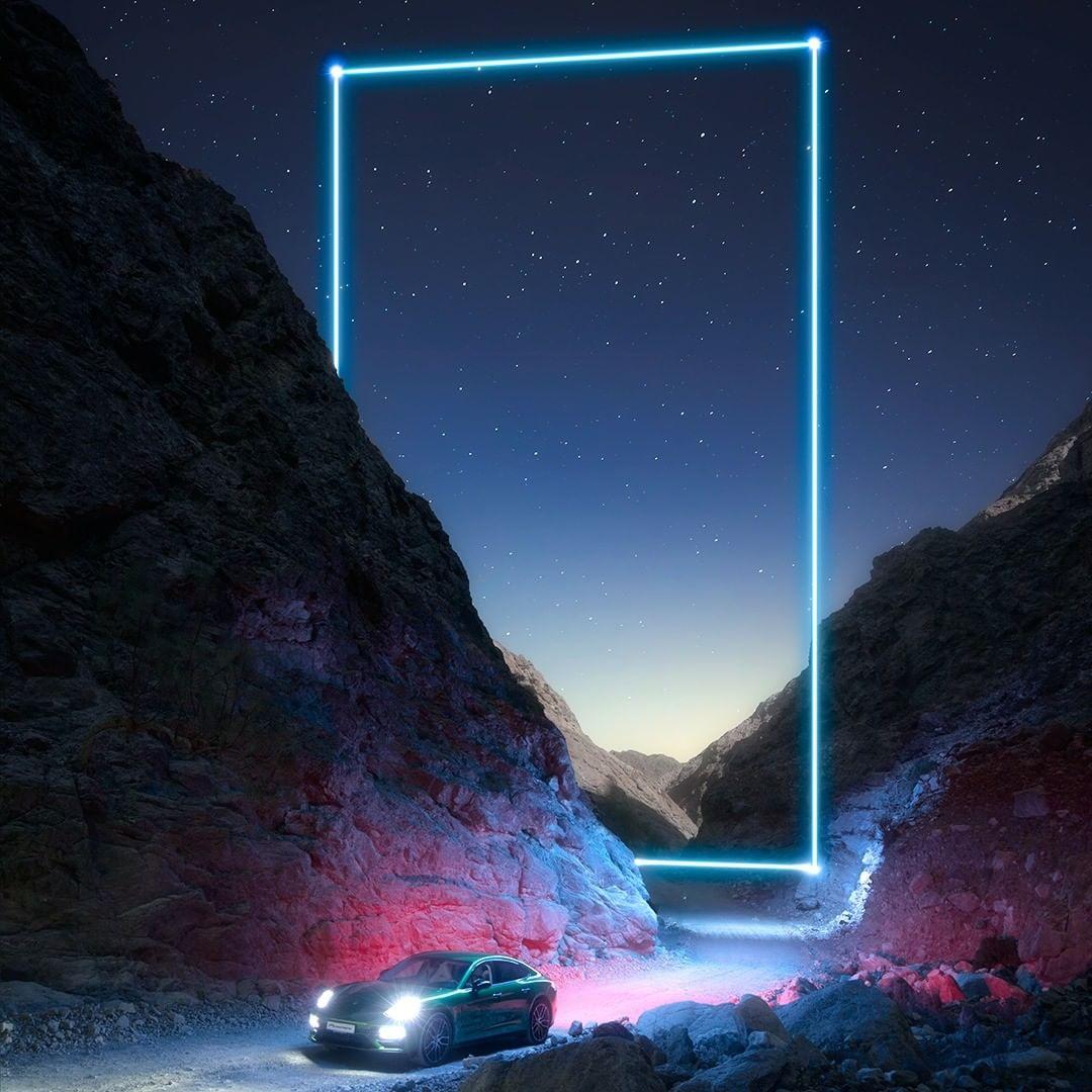 """Ảnh chụp bởi Baber Afzal trong chiến dịch """"Reflections of Passion"""" của Porsche"""