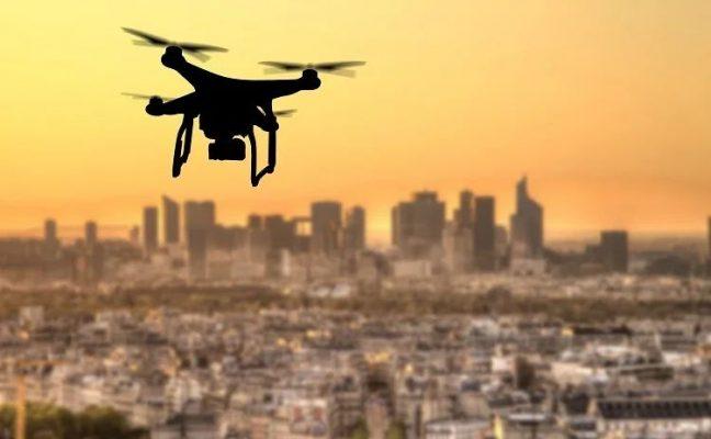 drone giám sát chất lượng không khí tốt hơn