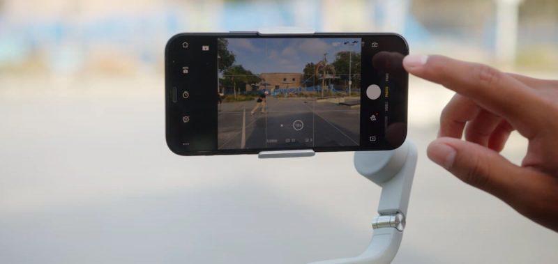 DJI OM 5 tích hợp nhiều chế độ chụp thông minh